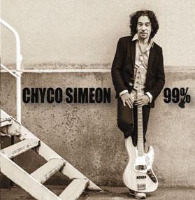 The cover of Chyco Simeon's fourth album 99%