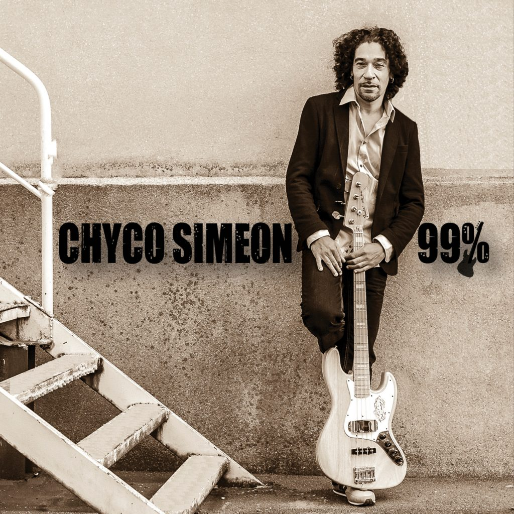 The cover of Chyco Simeon's fourth album 99%