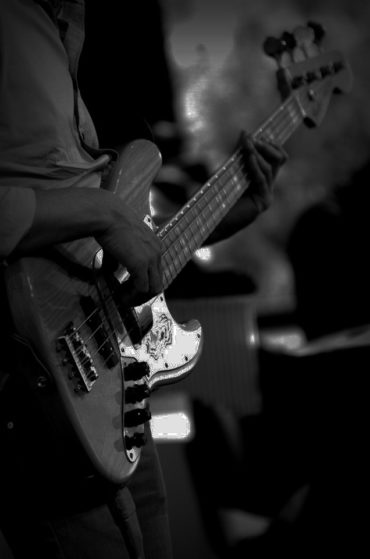Chyco Simeon and his Fender Jazz Bass 3